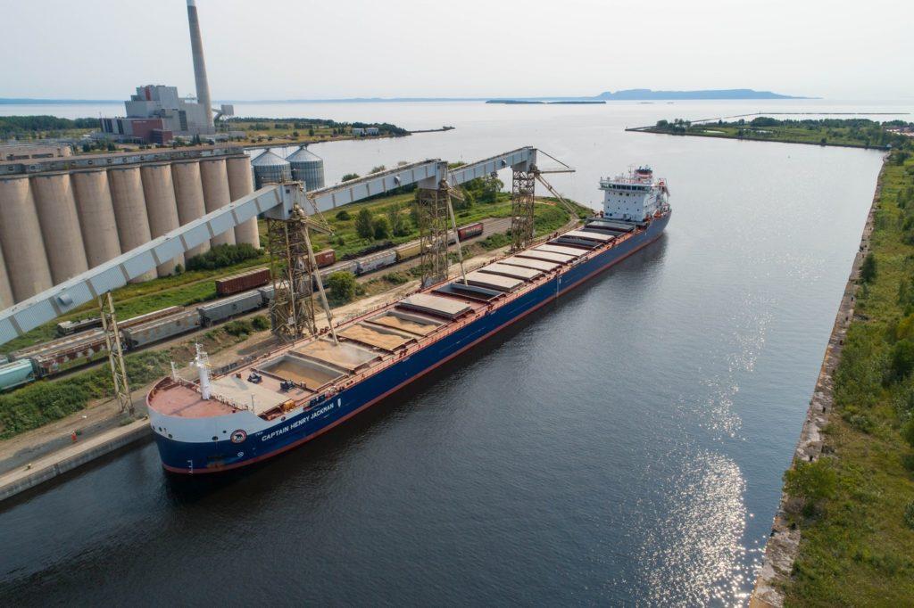 New Canadian-flag ship at the Port of Thunder Bay